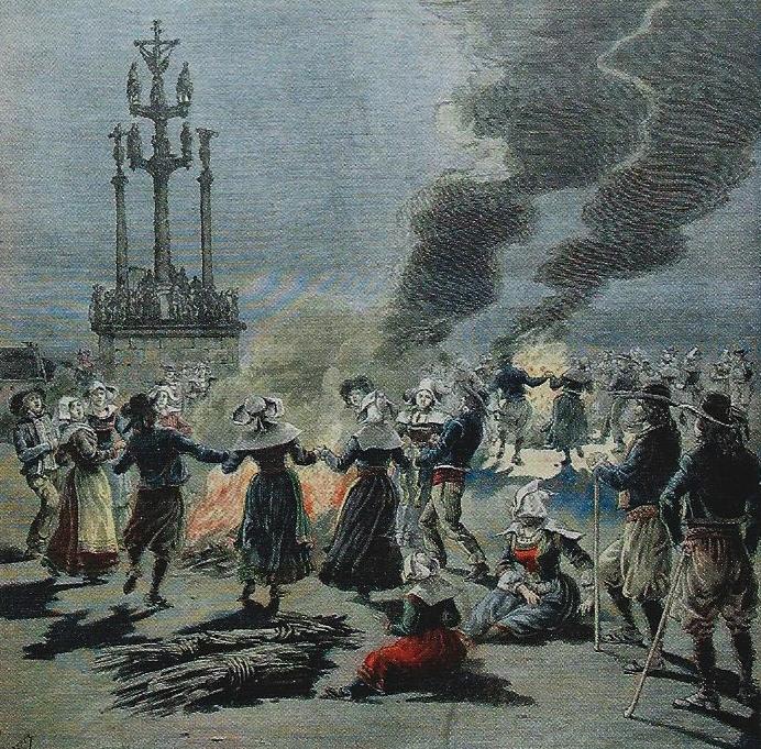 Jónsmessuhátíð í Frakklandi 1893